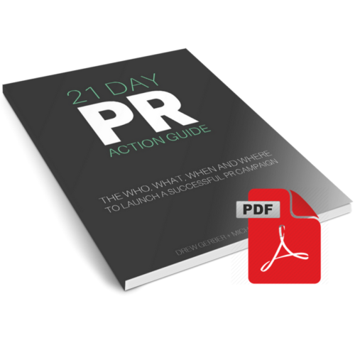 Wasabi Publicity 21-Day PR Action Guide