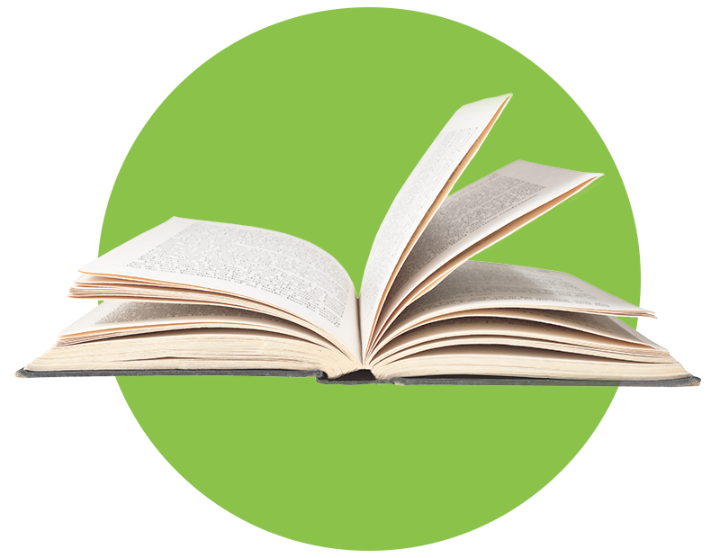 Book image - Green circle
